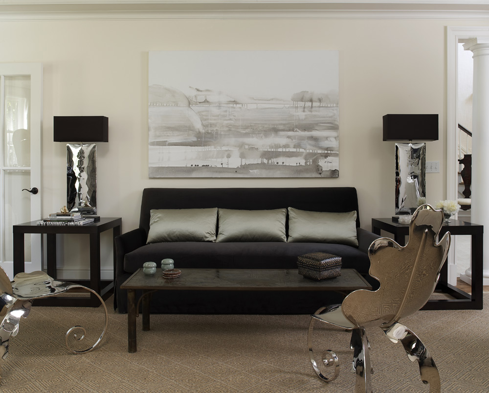 New canaan ct lynne scalo design for Living room design modern concepts